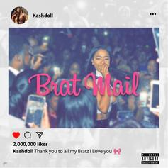 "Kash Doll Drops Off Birthday Surprise ""Brat Mail"""