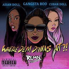 """Gangsta Boo Taps Asian Doll & Cuban Doll For X-Rated """"Where Dem Dollas At Remix"""""""