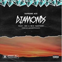 """IDK & Mir Fontane Link Up With Supreme Ace On """"Diamonds"""""""