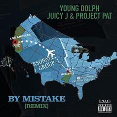 """Young Dolph Grabs Juicy J & Project Pat For """"By Mistake"""" Remix"""