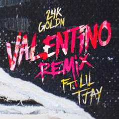 "24KGOLDN Taps Lil Tjay For ""Valentino (Remix)"""