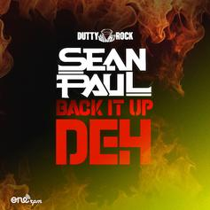 "Sean Paul Lights Up The Room On ""Back It Up Deh"""