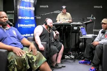 """Action Bronson Feat. Mayhem Lauren """"Freestyles on Sway in the Morning"""" Video"""