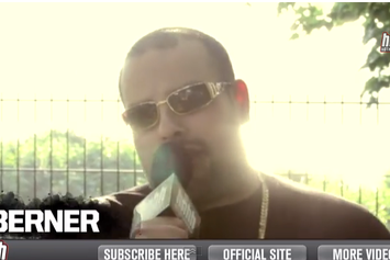 "Berner ""Talks Cookie Weed Strain & Being On Tour "" Video"