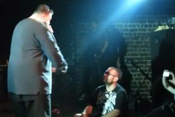 Action Bronson Puts A Concertgoer In Time-Out Onstage