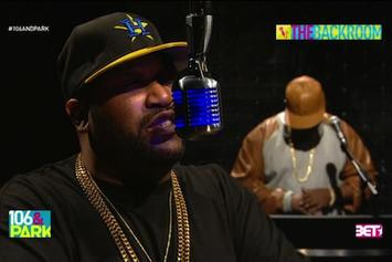 Bun B Freestyles On 106 & Park's The Backroom
