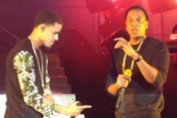 J. Cole Brings Out Jay Z At Madison Square Garden; Receives Roc Chain