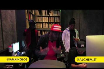 King Los Freestyles With The Alchemist