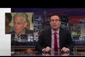 "John Oliver Discusses Ferguson, MO and Police Militarization On ""Last Week Tonight"""