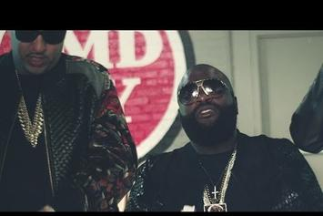 """Rick Ross Feat. French Montana """"What A Shame"""" Video"""