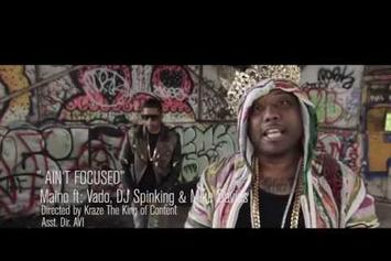 "Maino Feat. DJ Spinking, Vado & Mike Daves ""Ain't Focused"" Video"