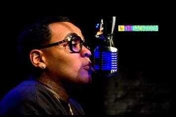 """Kevin Gates Freestyles On BET's """"The Backroom"""""""