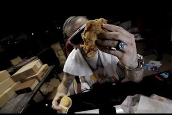 """Riff Raff """"LEFT WiTH A BiSCUiT CAME BACK WiTH A CHiCKEN"""" Video"""