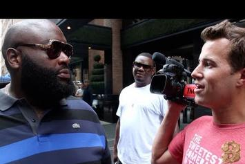 "Rick Ross ""Takes Over TMZ"" Video"