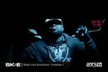 """Crooked I """"Skee Live Freestyle"""" Video"""