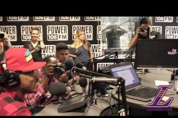 "Future ""Premieres New Single ""Honest"" on Power 106"" Video"