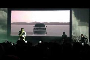 "Frank Ocean ""Debuts New Track In Munich"" Video"