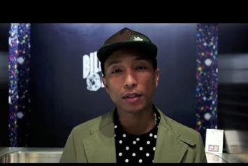 "Pharrell ""Speaks On BBC Celebrating 10 Years"" Video"
