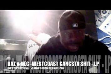 """Daz Dillinger Feat. WC """"Preview New Music In Studio"""" Video"""