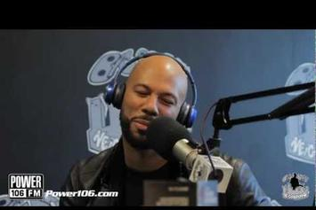 "Common ""Talks G.O.O.D. Music, New Movie"" Video"