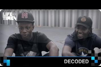 "Joey Bada$$ Feat. CJ Fly ""Decode ""Hardknock"""" Video"