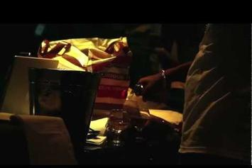 """Curren$y """"Records New Track"""" Video"""