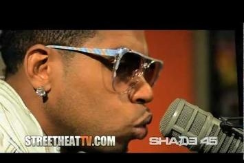 "Bobby V Feat. Feat. Lil Wayne ""Performs ""Mirror"" on Shade 45 "" Video"