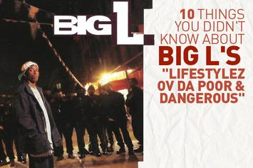 """10 Things You Didn't Know About Big L's """"Lifestylez Ov Da Poor & Dangerous"""""""