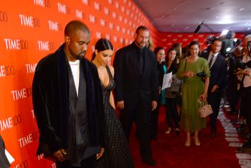 Amy Schumer Falls On Her Face In Front Of Kanye West & Kim Kardashian