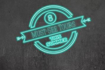 8 Must-See Hip-Hop Tours This Summer