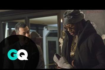 "2 Chainz Checks Out Some Diamond Shoes In ""Most Expensivest Shit"""