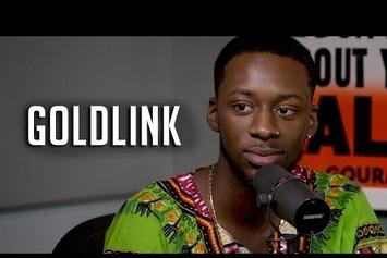 GoldLink On Real Late With Peter Rosenberg