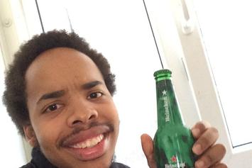 Earl Sweatshirt Hits A Stage Intruder