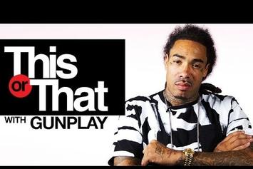 "Gunplay Plays ""This Or That"""