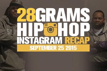 28 Grams: Hip Hop Instagram Recap (Sep 19-25)