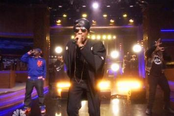 "A Tribe Called Quest Reunites On ""The Tonight Show With Jimmy Fallon"""