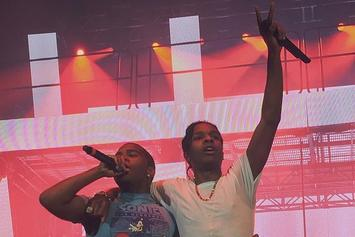 ASAP Rocky Brought Lil B Out In San Francisco Last Night
