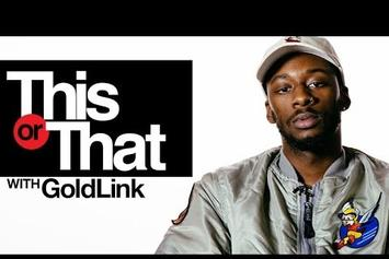 "GoldLink Plays ""This Or That"""
