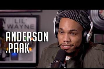 Anderson .Paak On HOT 97