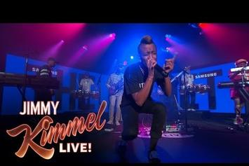 """The Internet Performs """"Get Away"""" On Jimmy Kimmel"""