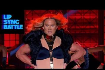 Channing Tatum Joined By Surprise Guest Beyonce On Lip Sync Battle