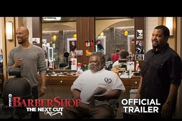 "The New ""Barbershop: The Next Cut"" Trailer Gives Us More Nicki Minaj & Common"