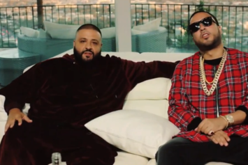 """Watch DJ Khaled Interview French Montana Before The """"Wave Gods"""" Premiere"""