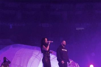 "Rihanna Brings Out Drake At ""Anti World Tour"" In Toronto"