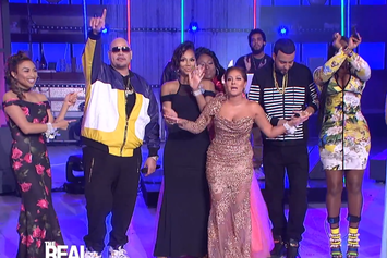 """Fat Joe, Remy Ma & French Montana Perform """"All The Way Up"""" Live On """"The Real"""""""