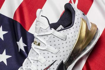 "First Look At The ""USA"" Nike LeBron 13 Low"
