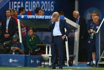 England's Manager Resigns Just Moments After His Team Loses To Iceland