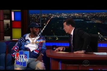 2 Chainz On Stephen Colbert