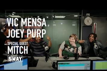 Joey Purp & Vic Mensa Freestyle On Sway In The Morning