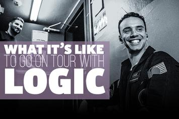 What It's Like To Go On Tour With Logic